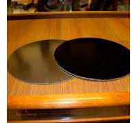Подложка усиленная черная/серебро D 280 мм ( Толщина 3,2 мм )