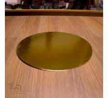 Подложка золото D 180 мм ( Толщина 0,8 мм )