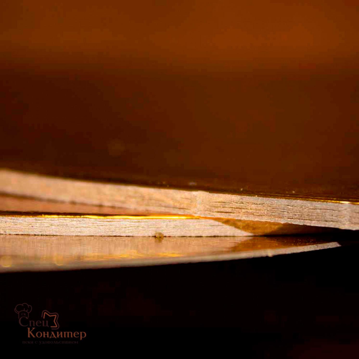 Подложка усиленная золото D 300 мм ( Толщина 2,5 мм )