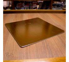 Подложка усиленная золото 300х300 мм ( Толщина 2,5 мм )