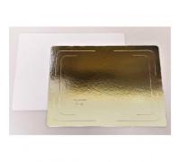 Подложка усиленная золото/жемчуг 300х400 мм ( Толщина 3,2 мм )