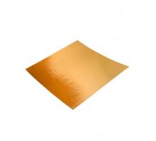 Подложка золото 200*200 мм (Толщина 0,8 мм)