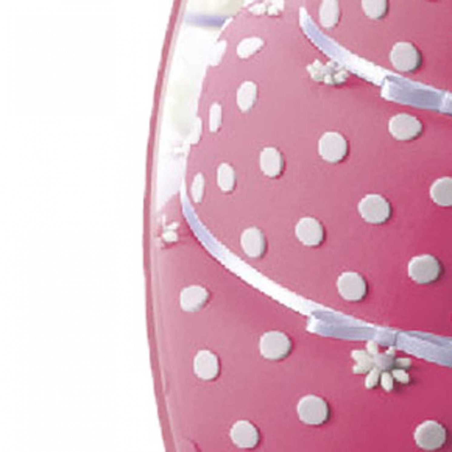 Мастика сахарная ванильная 600г, розовая