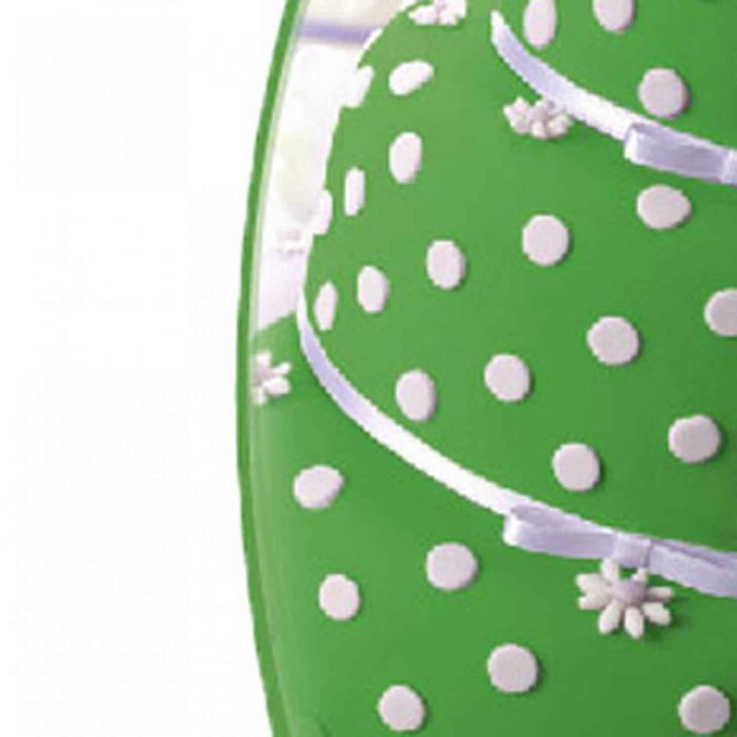 Мастика сахарная ванильная 600г, зеленая