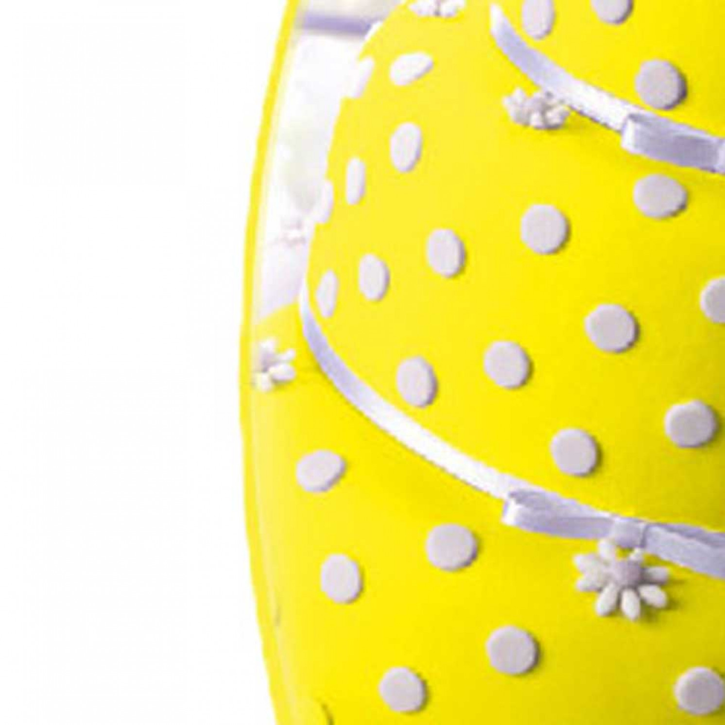 Мастика сахарная ванильная 600г, желтая