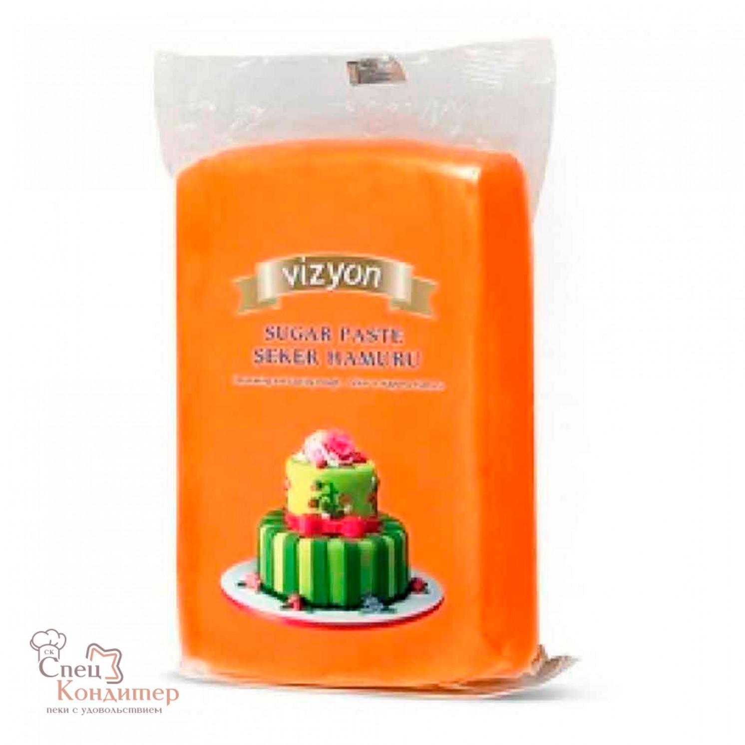 Мастика оранжевая Vizyon, 1кг