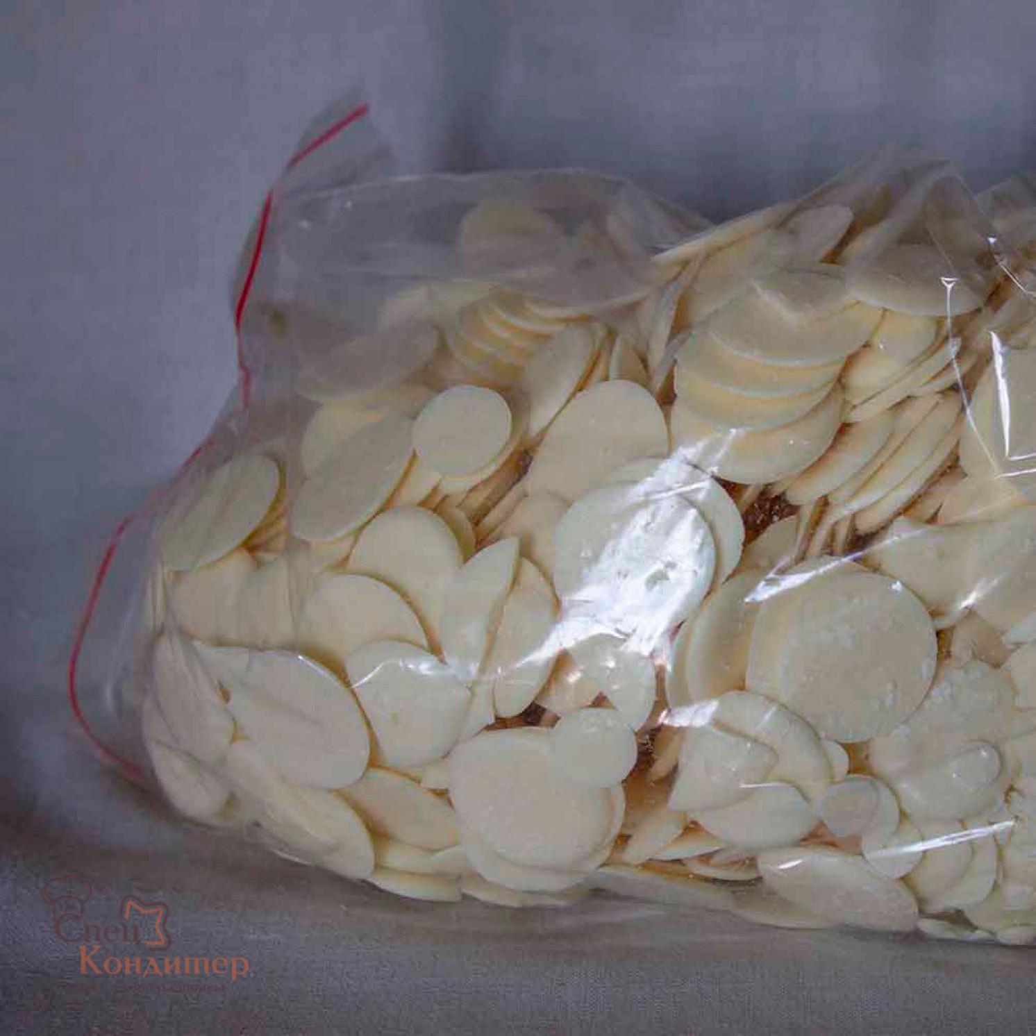 """Белая глазурь """"Шокомилк"""" № 33 (монеты) 1 кг"""