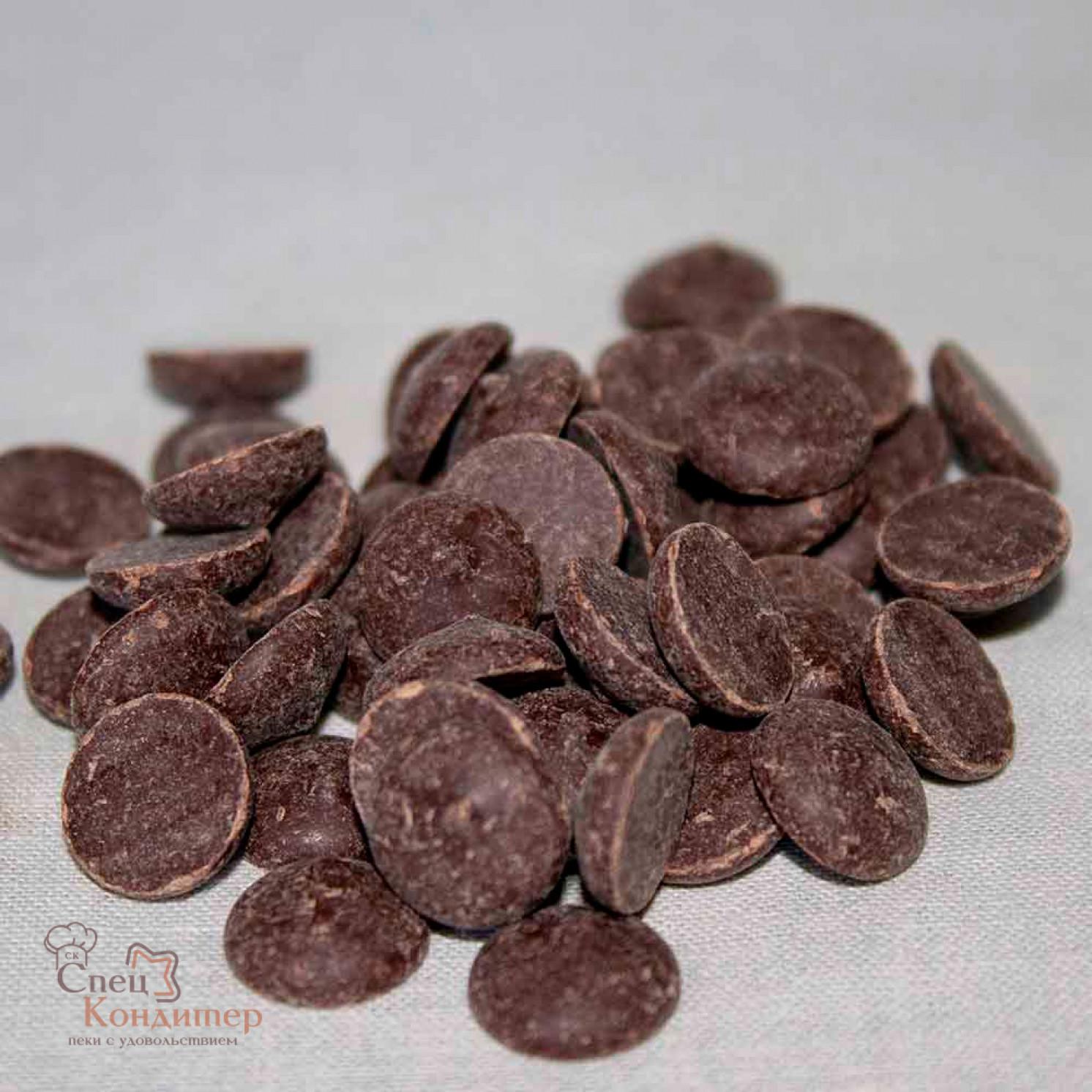 "Шоколад темный ""Callebaut"", 54,5% какао, каллеты 200 г"