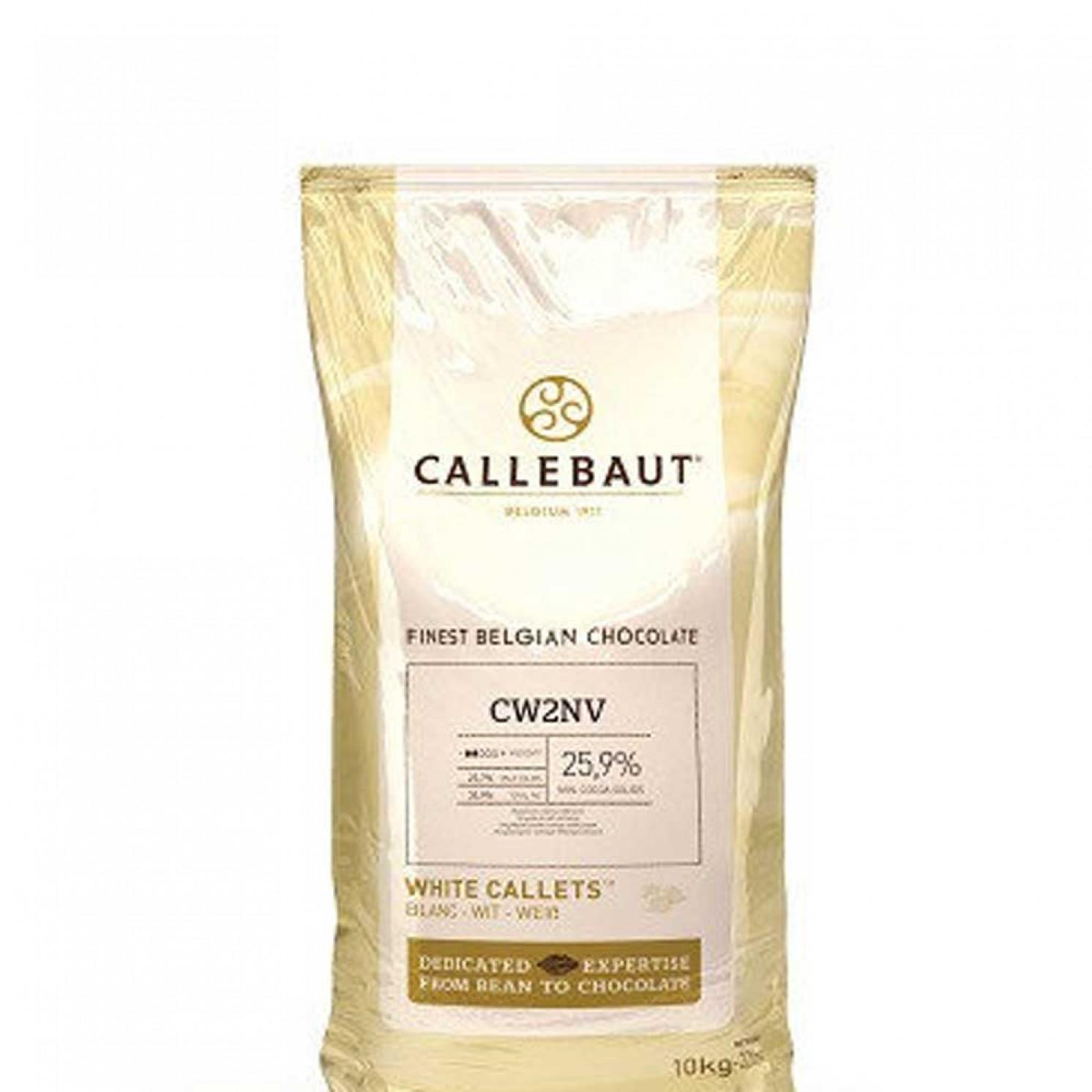 """Шоколад белый """"Callebaut"""", 25,9% какао, каллеты 500 г"""