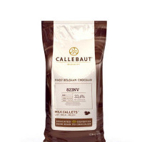 "Шоколад молочный ""Callebaut"", 33,6% какао, каллеты 200 г"