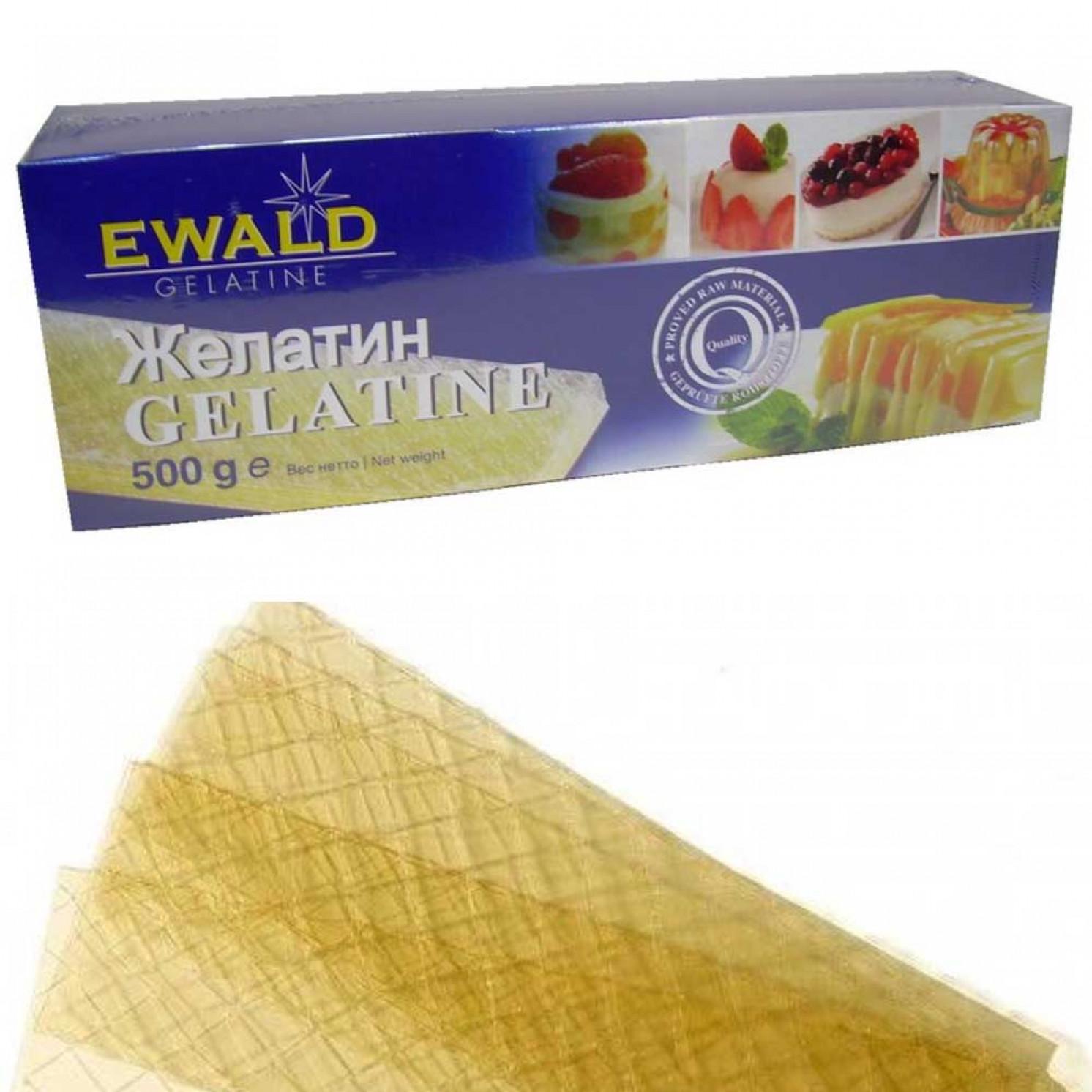 Желатин пищевой Ewald, 1 лист