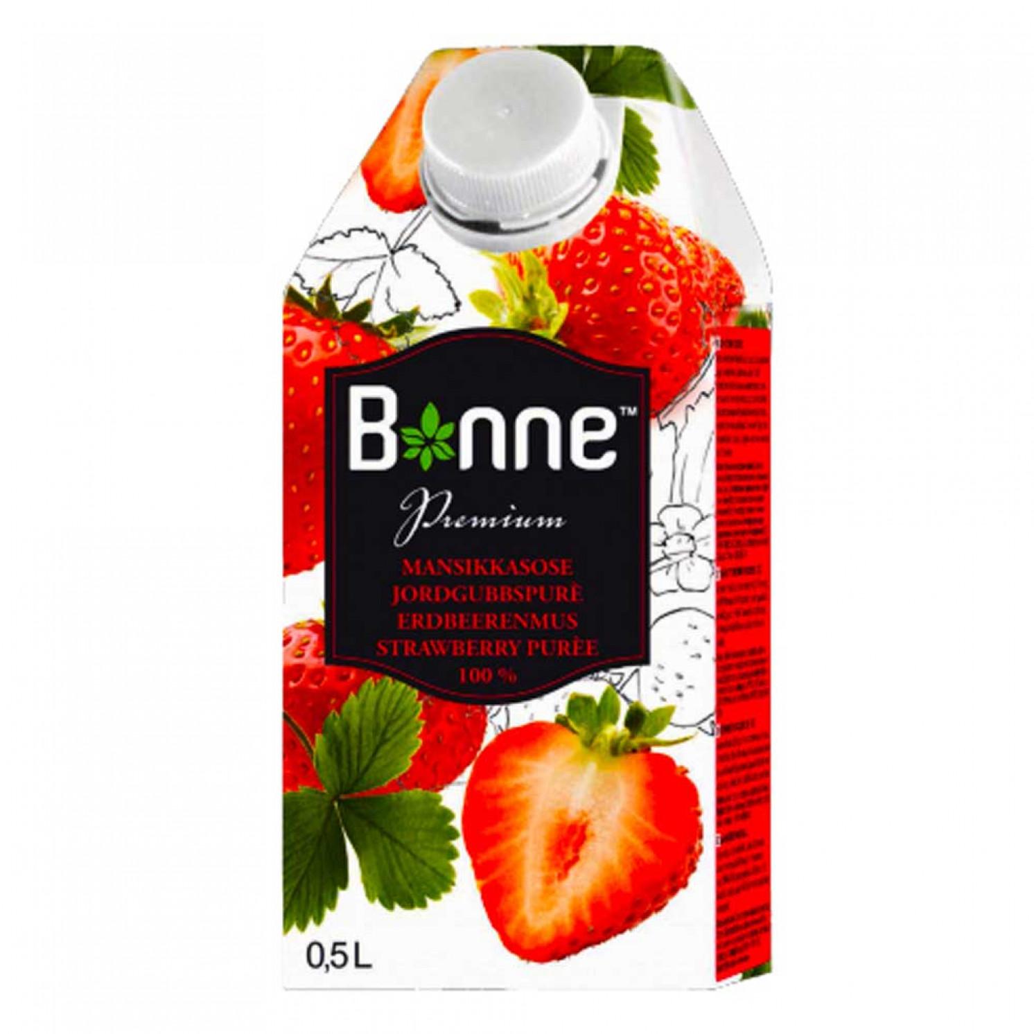 Клубничное пюре Bonne 0,5 л