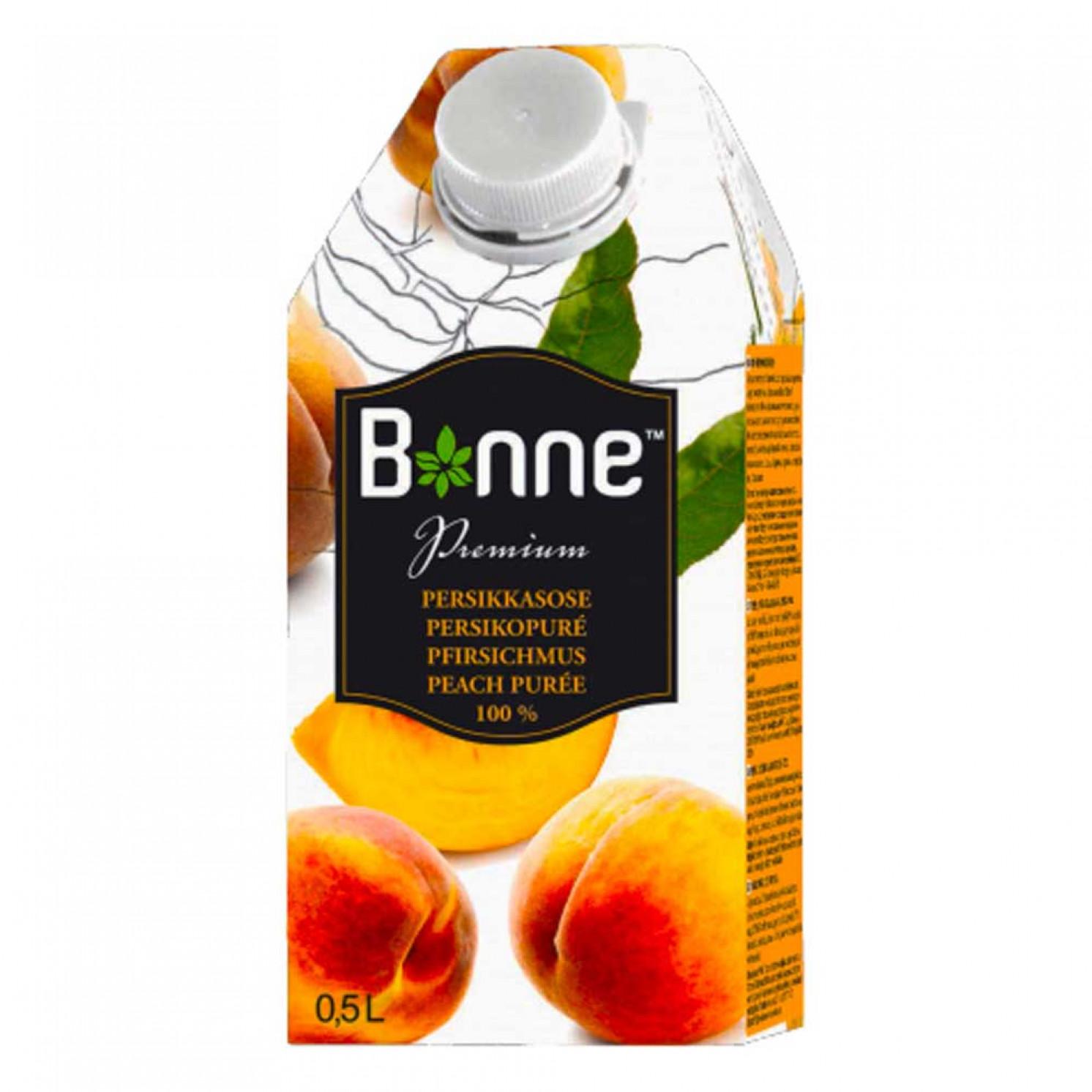 Персиковое пюре Bonne 0,5 л