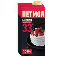 Петмол Сливки 33%