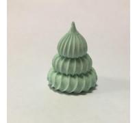 Сахарные фигурки Ёлочка светло-зелёная,30*45 мм