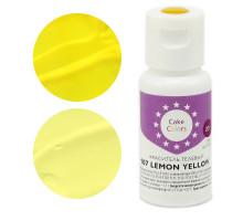 Краситель гелевый 107 lemon yellow, 20г