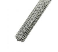 Проволока в бумажной обмотке пучок 30 шт, 36 см D=1,2мм ;№ 18 Серебряная