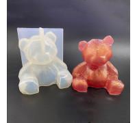 Молд Силиконовый 3D Медведь