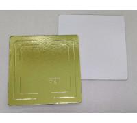 Подложка усиленная золото 300х300 мм ( Толщина 3,2 мм )