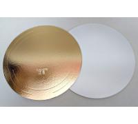Подложка усиленная золото/жемчуг D 34 (толщина 3,2 мм)