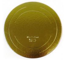 Подложка усиленная золото D 400 мм ( Толщина 2,5 мм )