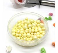 Драже «Жемчуг» взорванные зёрна риса в цветной кондитерской глазури цвет жёлтый микс, 50 г