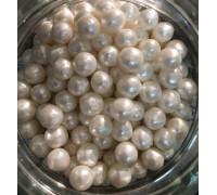 Сахарные шарики Жемчуг, маленькие d=4 мм, 50г