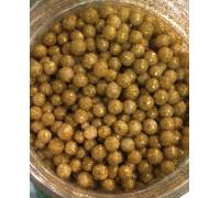 Сахарные шарики Золото, маленькие d=4 мм, 50г