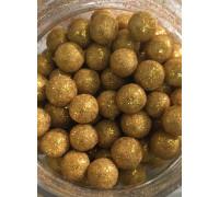 Сахарные шарики Золото, средние d=8 мм, 50г