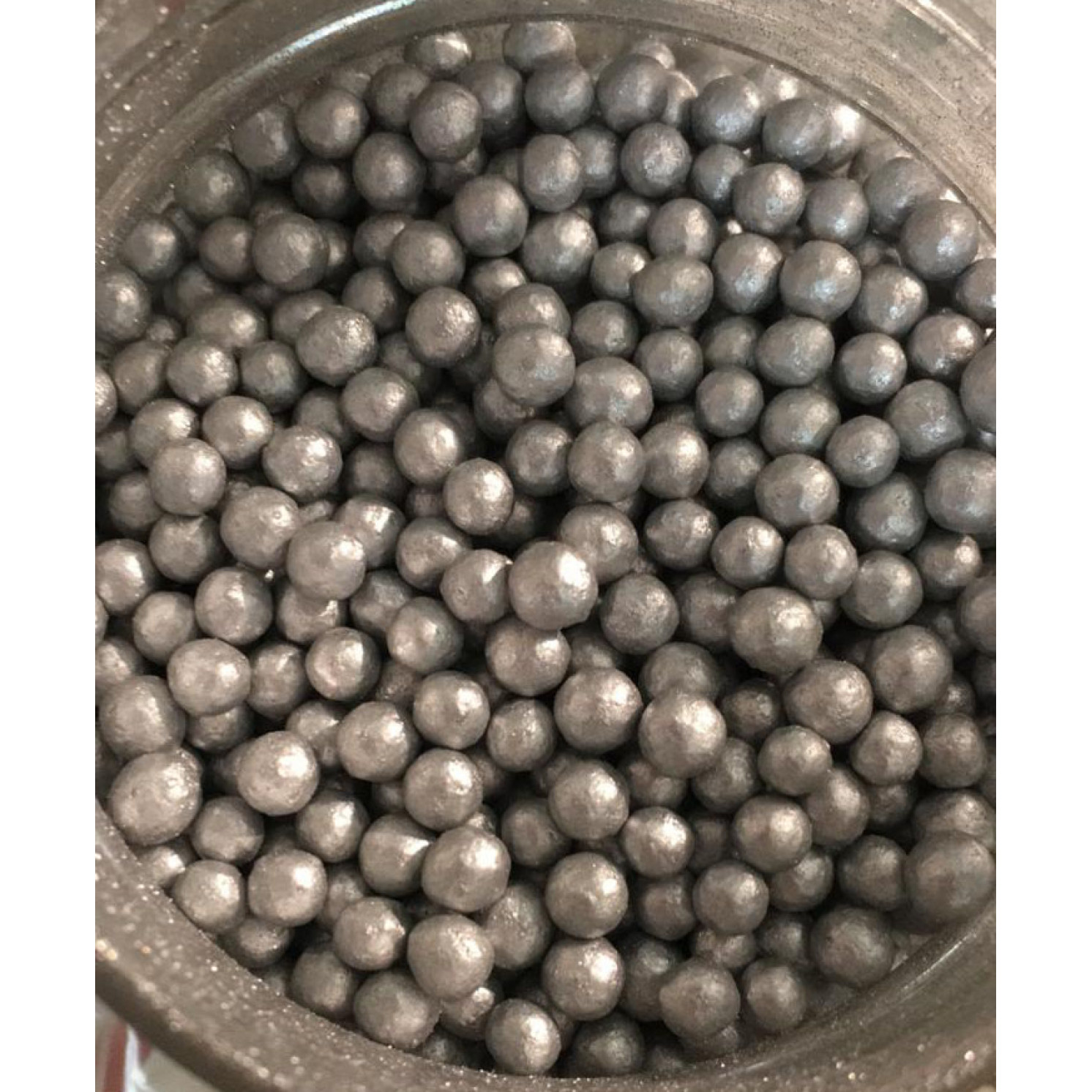 Сахарные шарики Серебро, маленькие d=4 мм, 50г