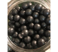 Сахарные шарики Космический уголь, средние d=8 мм, 50г