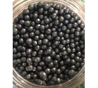 Сахарные шарики Космический уголь, маленькие d=4 мм, 50г