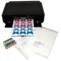 Печать съедобных картинок на толстой вафельной бумаге