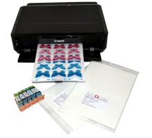Печать съедобных картинок на сахарной бумаге