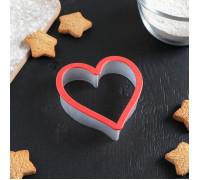 """Форма для печенья 9,5×10 см """"Сердце"""""""
